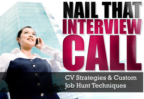 CV Strategies & Custom Job Hunt Techniques