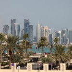 qatar-city-view-sun