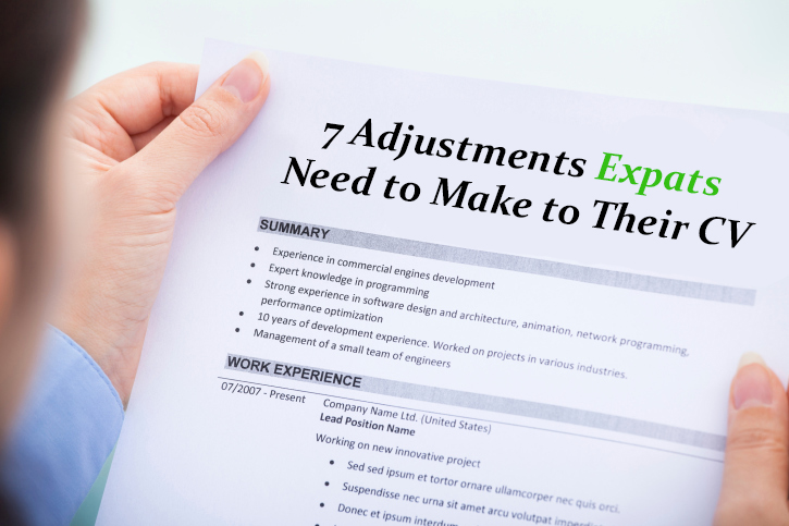 7 Adjustments to Make on your CV Before Applying for Jobs in the Middle East