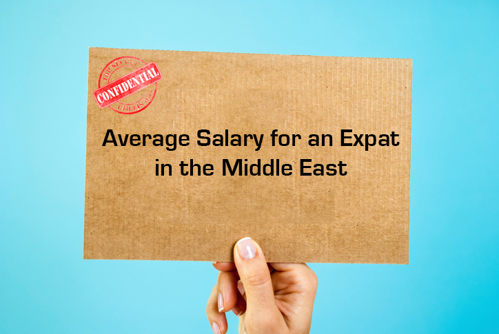 Average Salary for Expats in the Middle East (Infographic)