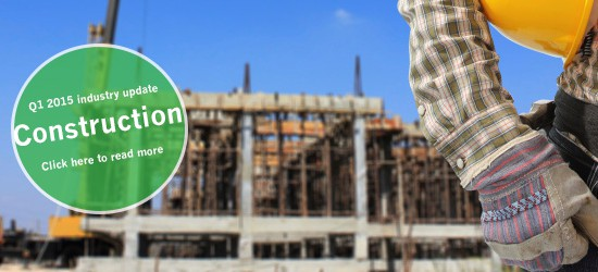 Construction Industry Update – Q1 2015