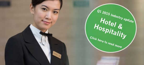 Hotels and Hospitality Industry Update – Q1, 2015